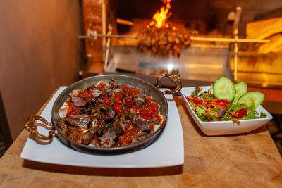 Vleesgerecht - Iskender kebab